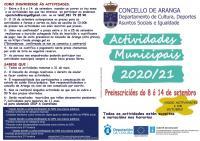ACTIVIDADES MUNICIPAIS 2020/2021