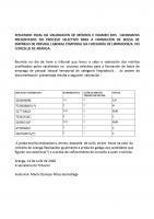 RESULTADO FINAL DA VALORACIÓN DE MÉRITOS E EXAMEN DOS  CANDIDATOS   PRESENTADOS NO PROCESO SELECTIVO PARA A FORMACIÓN DE BOLSA DE EMPREGO DE PERSOAL LABORAL TEMPORAL NA CATEGORÍA DE LIMPIADOR/A  NO CONCELLO DE ARANGA.
