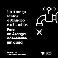 ARANGA TACHA A VIOLENCIA DE XÉNERO