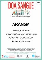 Unidade Móvil doazón de sangue o 8 de maio na Castellana