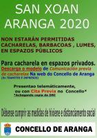 CACHARELAS DE SAN XOÁN 2020